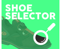Use our bowling shoe selector.