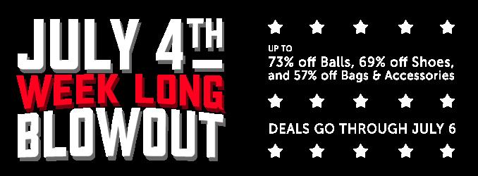 4th of July Week Sale