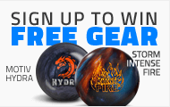 Monthly Bowling Ball Giveaways