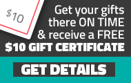 Express Shipping Gift Certificate