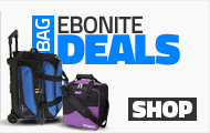 Ebonite Bowling Bags on Sale