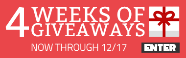 Weekly Giveaways for 4 Weeks!
