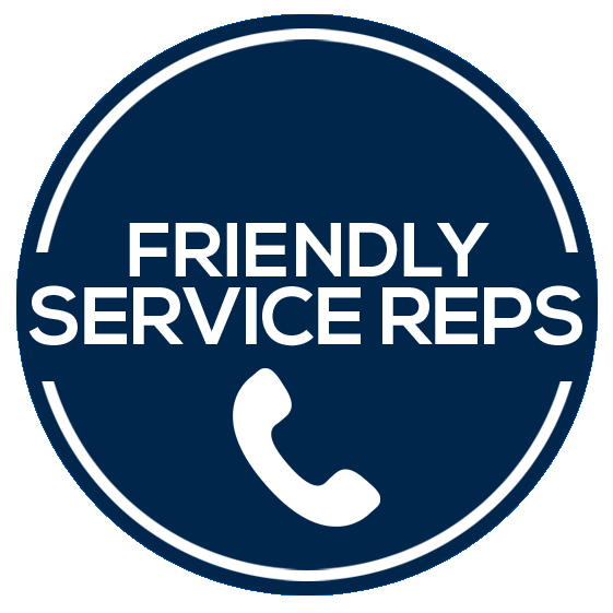 Friendly Service Reps