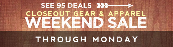 Weekend Gear Sale